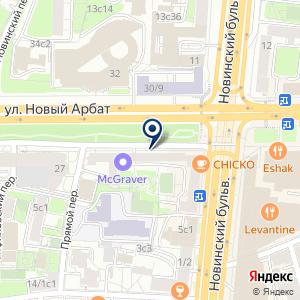 «Legatto» на карте