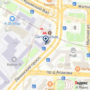 «Адонис» на карте