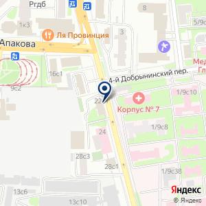 «Каспийская гидротехническая компания» на карте