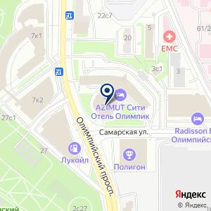 «I-TOPMODEL» на карте