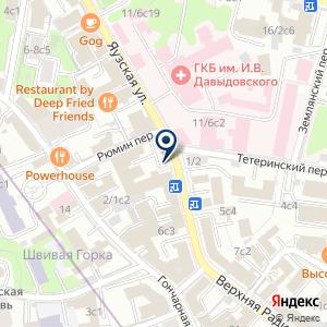 «Банк ФК Открытие» на карте