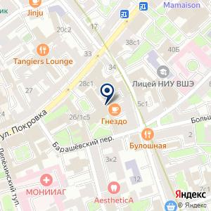 «Багетная на Покровке» на карте