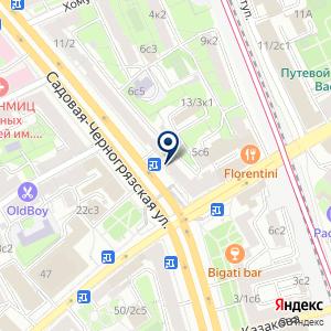 «Контраст» на карте