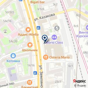 «Тарелка Столовая» на карте
