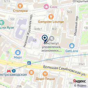 «ОРИС» на карте