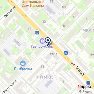 «ЭнджойКлин» на карте