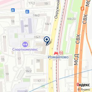 «Гипроречтранс» на карте