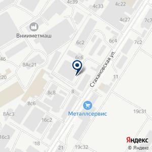 «Терминал МетСервис» на карте
