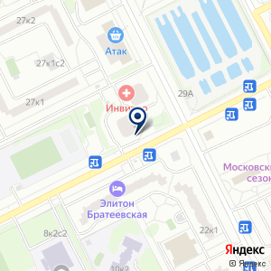 «МЦК» на карте