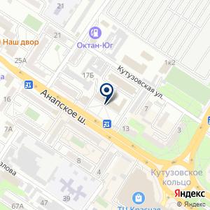 «Плеяда» на карте