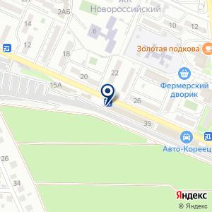«Автосервис» на карте