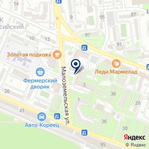 «Тиккурила-Юг» на карте