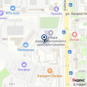 «Новороссийский колледж радиоэлектронного приборостроения» на карте