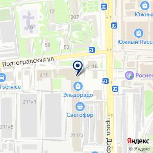 «Горячеключевская мебельная фабрика» на карте