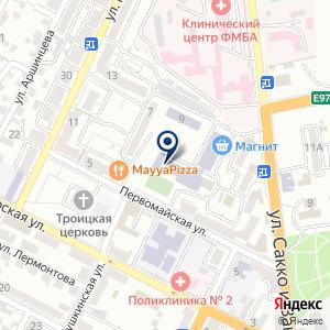 «Средняя общеобразовательная школа №32» на карте