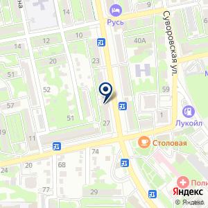 «Настена» на карте