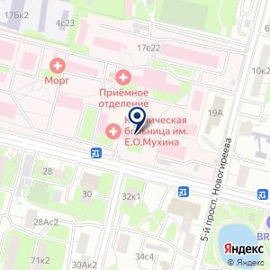 «Больница им. Е.О. Мухина» на карте