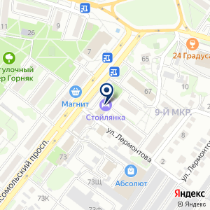 «Союз мастеров» на карте