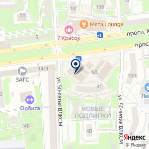 «Салон Антураж» на карте
