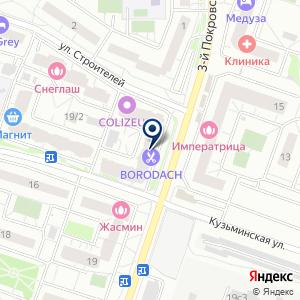 «LAV ОПТИКА» на карте
