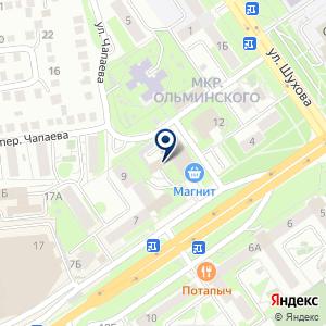 «Прямая Линия» на карте