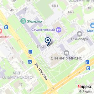 «1C: БухОбслуживание» на карте