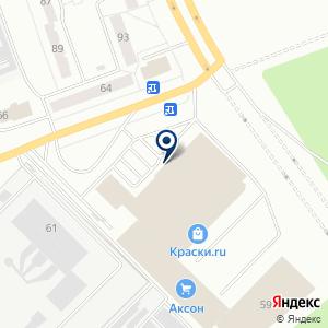 «Аксон» на карте