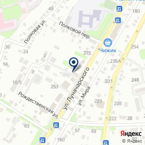 «СЕРВИС-ОНЛАЙН» на карте