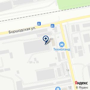 «Нерудстрой» на карте