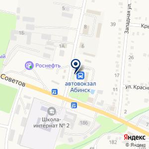 «Автовокзал» на карте