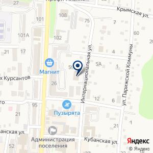 «КБ Кубань кредит» на карте
