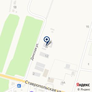 «Автомиг» на карте