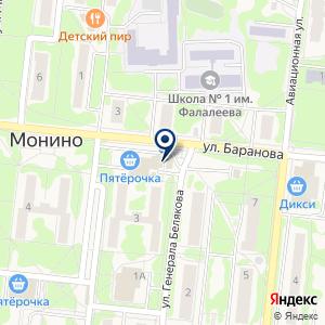 «Моня» на карте