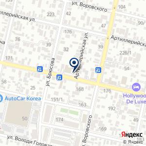«ГНБ Кубань» на карте