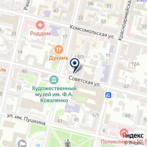 «Центральное юридическое агентство» на карте