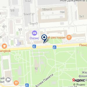 «Адвокатский кабинет Сидоренко И.П» на карте
