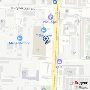 «Управление буровых работ-1» на карте