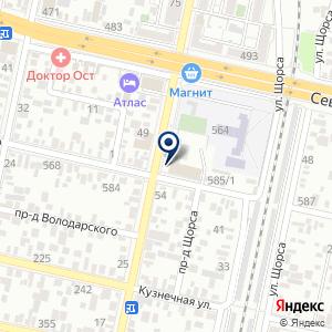 «Геопроектстрой» на карте