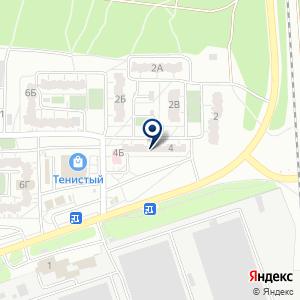 «Врачебная амбулатория №3» на карте