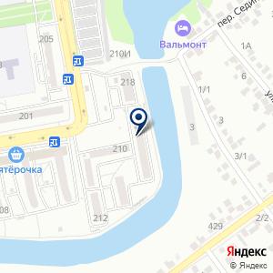 «КубаньСтройАльянс» на карте
