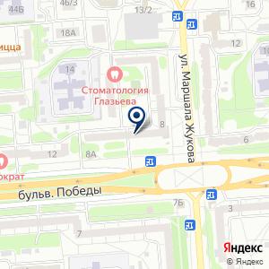 «EQUAL» на карте