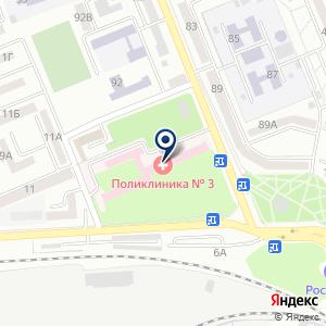 «Детская поликлиника» на карте