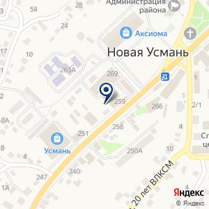 «Альянс» на карте