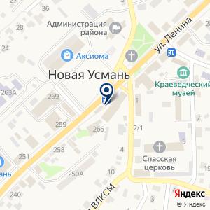 «Парикмахерская» на карте