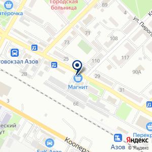 «АзовПринт» на карте