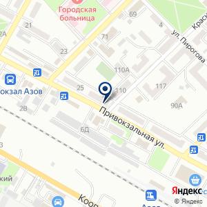 «Фиеста» на карте