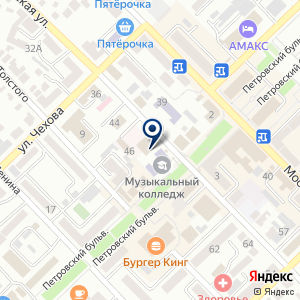 «Ростовская областная коллегия адвокатов» на карте