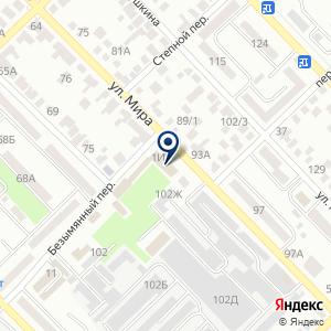 «Азовский районный отдел образования» на карте
