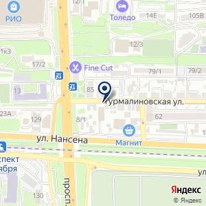 «Кадет» на карте