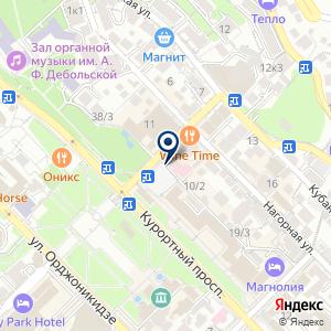 «Аистёнок» на карте